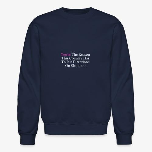 Stupid People - Crewneck Sweatshirt