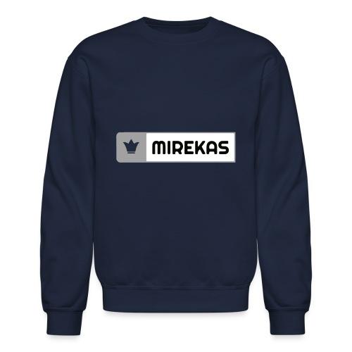 mirekas grey & white - Crewneck Sweatshirt