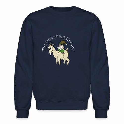 goodgnomewhitetext - Crewneck Sweatshirt