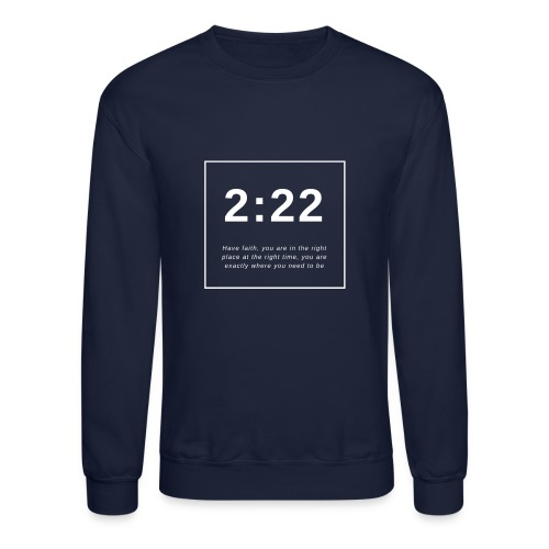 Angel Number 2:22 - Crewneck Sweatshirt