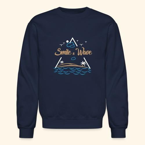 SmileNWave - Crewneck Sweatshirt