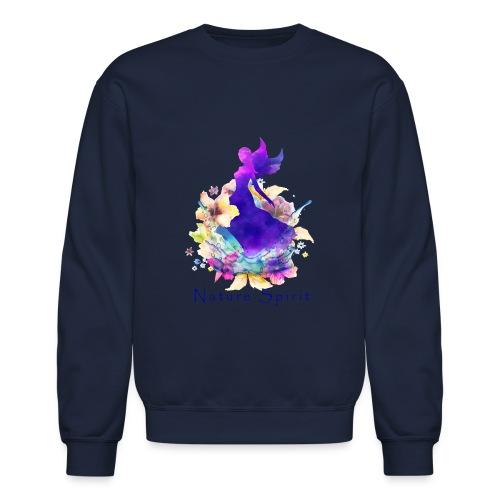 Nature Spirit - purple - Crewneck Sweatshirt