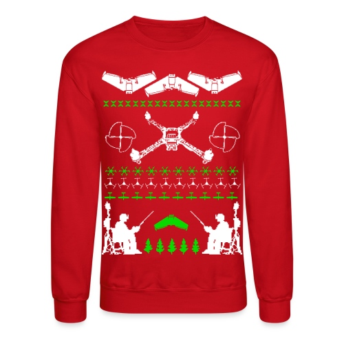 Ugly Holiday Sweater Green - Crewneck Sweatshirt
