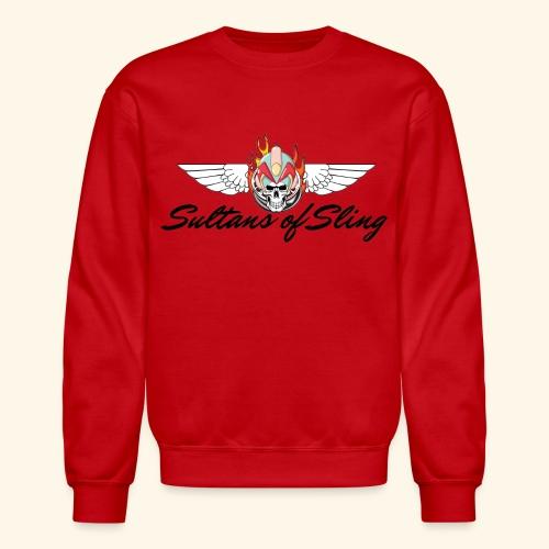 Sultans of Sling Shirt Logo - Unisex Crewneck Sweatshirt