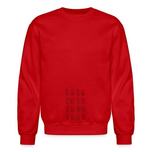 Great War Dates - Unisex Crewneck Sweatshirt