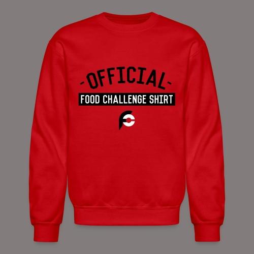Official Food Challenge Shirt 1 - Unisex Crewneck Sweatshirt