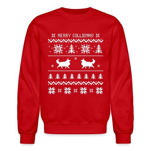 Merry Colliemas - Unisex Crewneck Sweatshirt