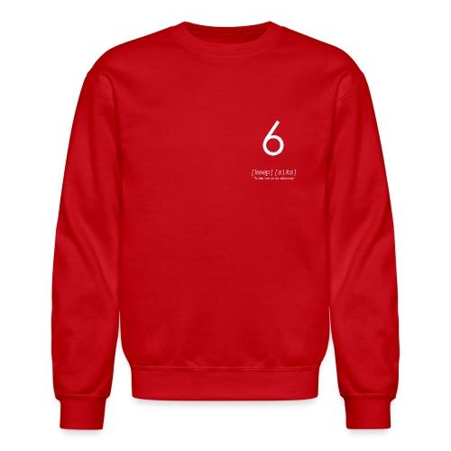 KEEP6HIWHITE - Crewneck Sweatshirt