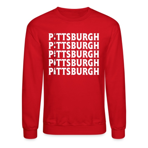 Ketch Up in PGH (Red) - Unisex Crewneck Sweatshirt
