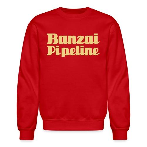 The Legendary Banzai Pipeline - North Shore - Oahu - Crewneck Sweatshirt