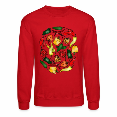 Chili Peppers - Unisex Crewneck Sweatshirt