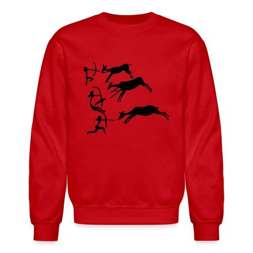 Lascaux Cave Painting - Crewneck Sweatshirt