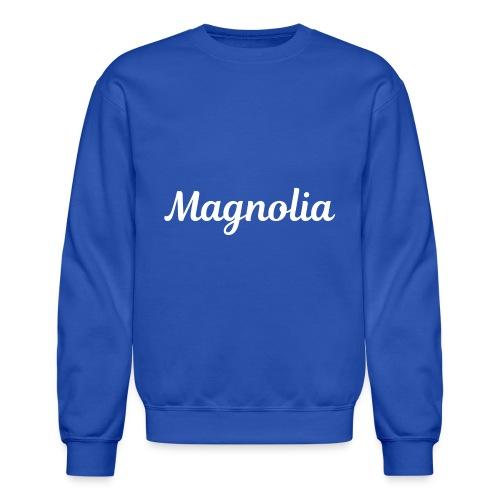 Magnolia Abstract Design. - Crewneck Sweatshirt