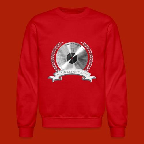 WITNESSTHEFAME PLATINUM SEAL - Unisex Crewneck Sweatshirt