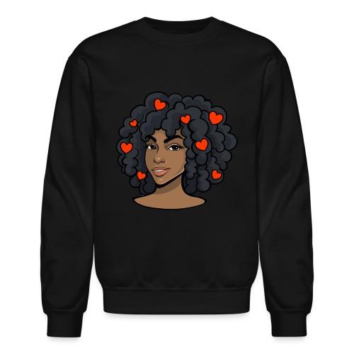 love black women - Crewneck Sweatshirt
