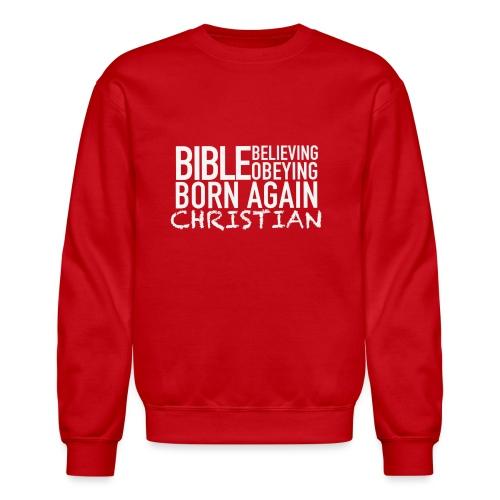 Born Again Line - Unisex Crewneck Sweatshirt