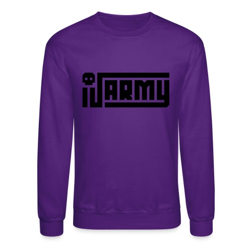 iJustine - iJ Army Logo - Crewneck Sweatshirt