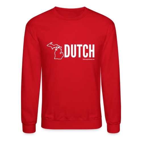 Michigan Dutch (white) - Crewneck Sweatshirt