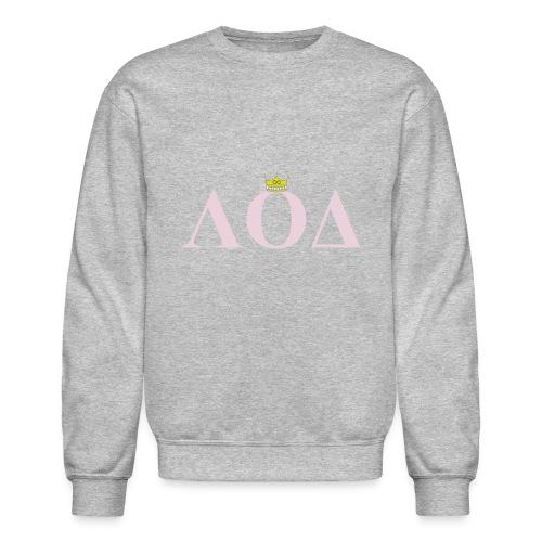 Crown Pink Letters - Crewneck Sweatshirt