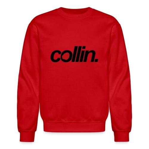 Collin. (Black w/ Rose) - Crewneck Sweatshirt