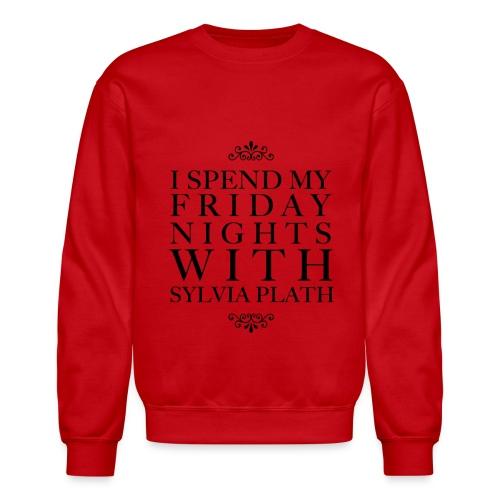 plath png - Crewneck Sweatshirt