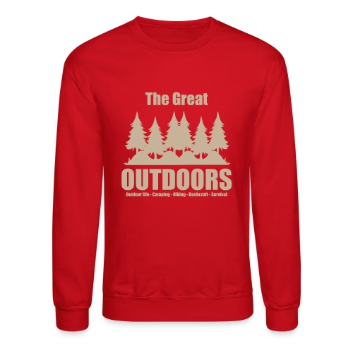 The great outdoors - Clothes for outdoor life - Crewneck Sweatshirt