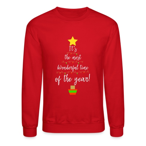 The Most Wonderful Time Of The Year Christmas! - Unisex Crewneck Sweatshirt