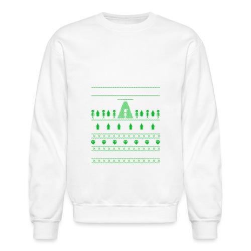 UFO ALIEN UGLY Christmas - Crewneck Sweatshirt