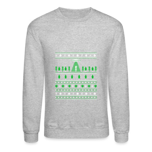 UFO ALIEN UGLY Christmas - Crewneck Sweatshirt