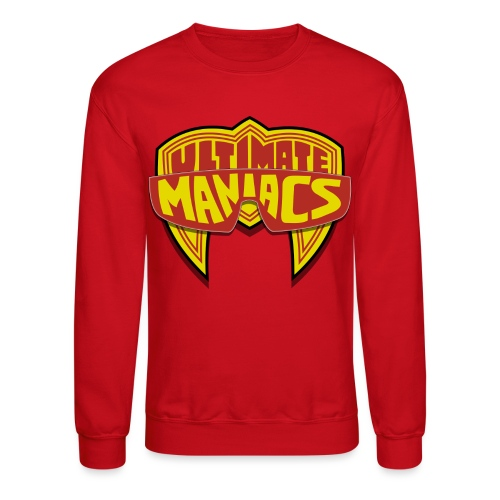 Ultimate Maniacs Sweatshirt - Unisex Crewneck Sweatshirt