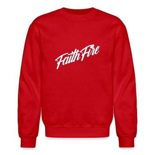 FAITHFIRE SIGNATURE - WHITE - Crewneck Sweatshirt
