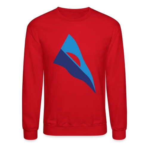 Throwback Burgee - Unisex Crewneck Sweatshirt