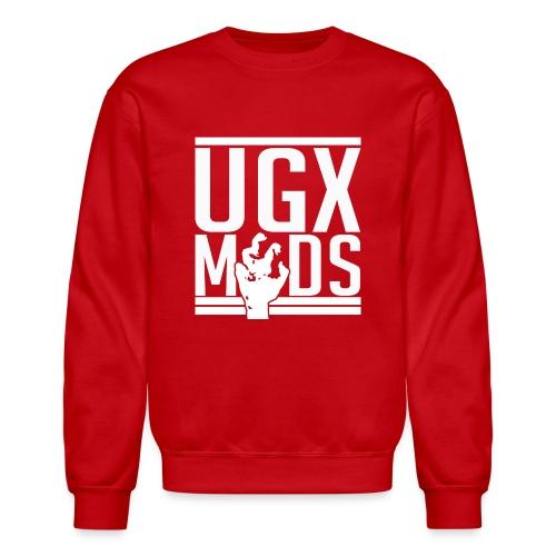 UGX Mods YouTube Logo NO BG png - Crewneck Sweatshirt