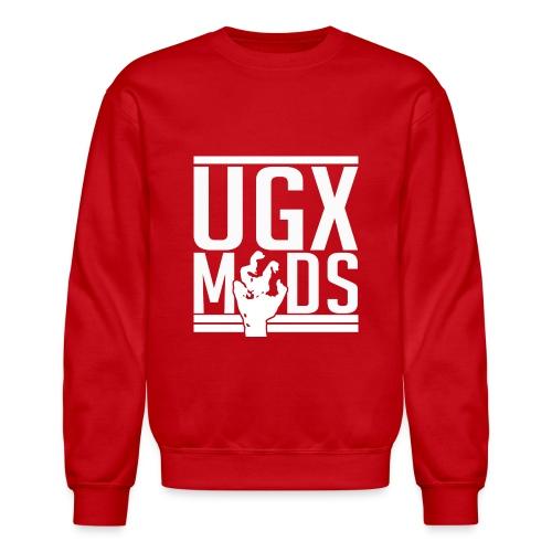 UGX Mods YouTube Logo NO BG png - Unisex Crewneck Sweatshirt