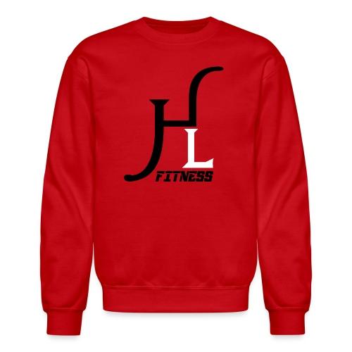 HIIT Life Fitness logo white - Crewneck Sweatshirt