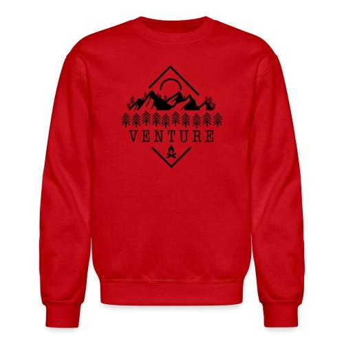 Venture Van Life / Travel Canada / Rocky Mountains - Unisex Crewneck Sweatshirt