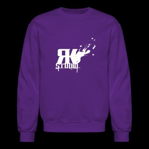 RKStudio White Logo Version - Crewneck Sweatshirt
