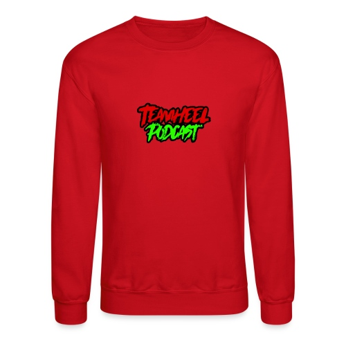 TEAMHEEL Podcast RedNGreen - Crewneck Sweatshirt