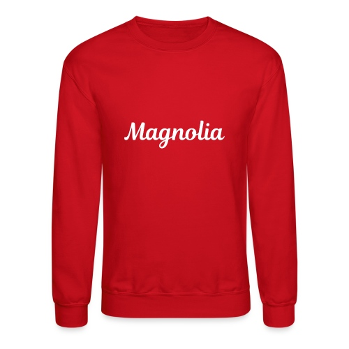 Magnolia Abstract Design. - Crewneck Sweatshirt