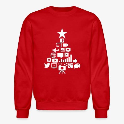 Social Blade Christmas Tr - Crewneck Sweatshirt