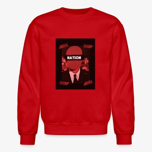 Mystery Man Red - Crewneck Sweatshirt