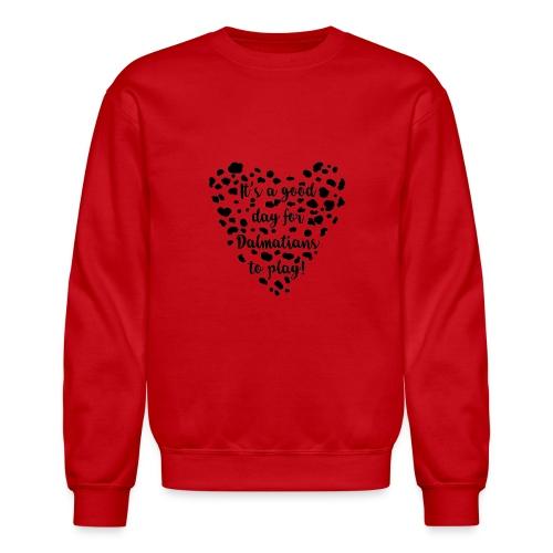Dalmatians Play - Crewneck Sweatshirt