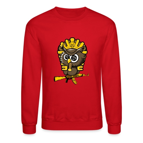 king otrg owl - Unisex Crewneck Sweatshirt