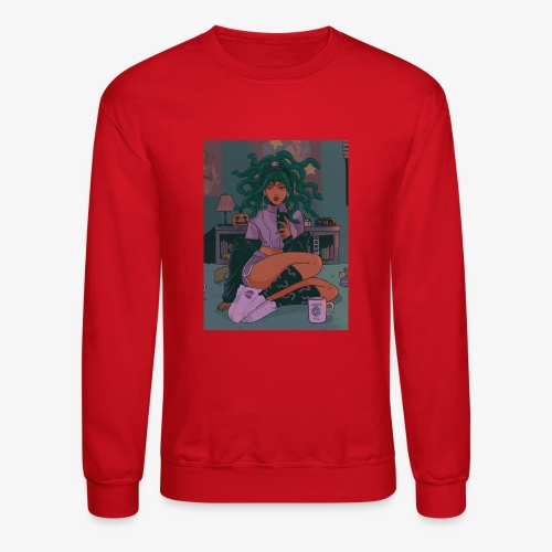 Medusa Girl - Unisex Crewneck Sweatshirt