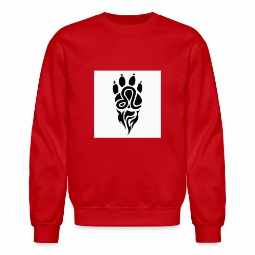 Black Leo Zodiac Sign - Unisex Crewneck Sweatshirt