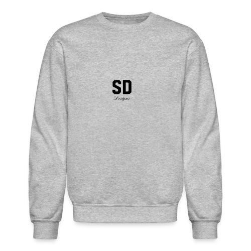 SD Designs blue, white, red/black merch - Crewneck Sweatshirt