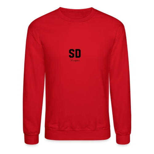 SD Designs blue, white, red/black merch - Crewneck Sweatshirt