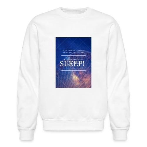 Sleep Galaxy by @lovesaccessories - Crewneck Sweatshirt