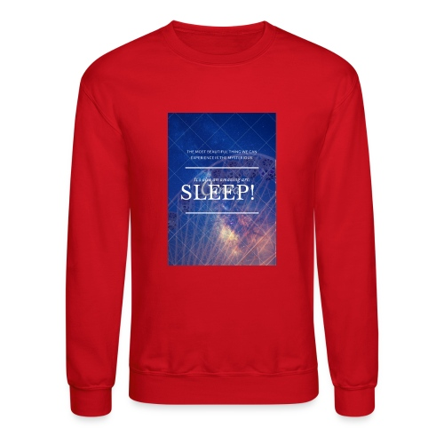 Sleep Galaxy by @lovesaccessories - Crewneck Sweatshirt