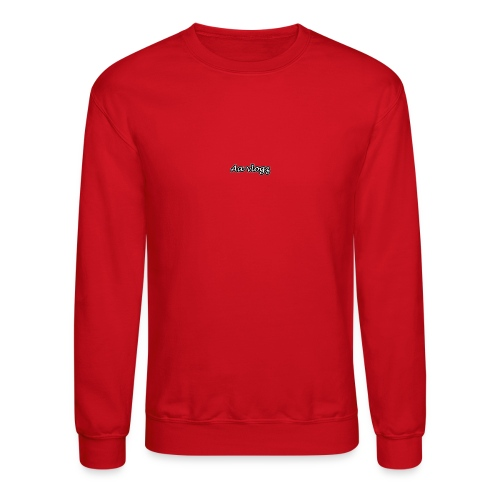 double a vlogz - Unisex Crewneck Sweatshirt